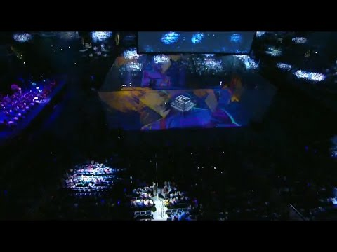 Ignite by Zedd Live Performance Worlds final Opening Ceremony