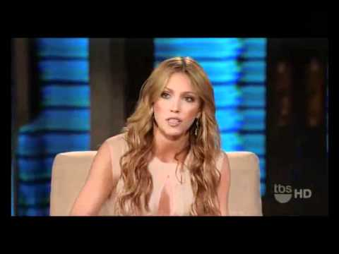 Katie Cassidy Interview (Lopez Tonight, Part 1)