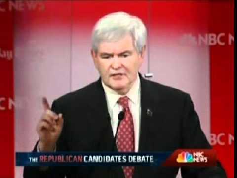 FULL NBC GOP Debate Tampa Florida January 23 2012