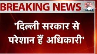 jitendra singh hits back at kejriwal govt