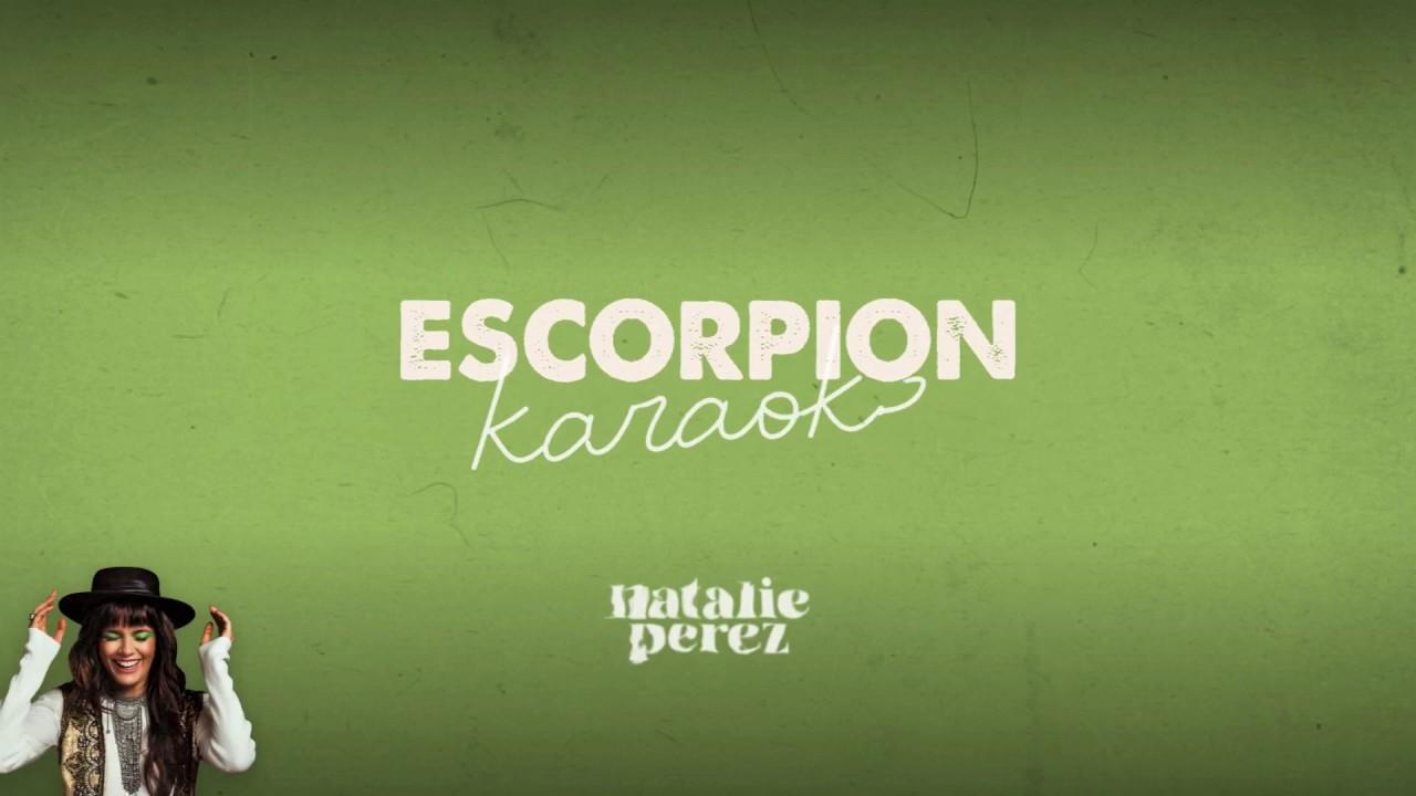 Natalie Perez - Escorpión (Karaoke Oficial)