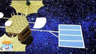 Как Сделать Своими Руками Поделку Спутник - Мастер Класс