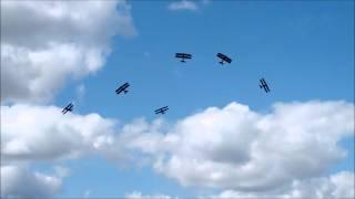 De Havilland Tiger 9 & Great War Display Team, Highclere Castle August 2014