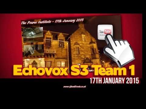 Public Echovox Session: Pearce Institute - Team 3 (S1)