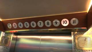 """Dan Elevator"" traction elevator @ Cruiseferry M/S Viking Cinderella."
