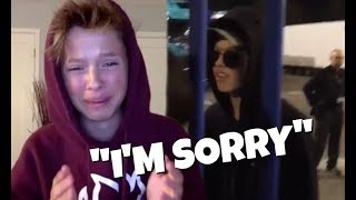jacob sartorius cries when asked about cheating on millie bobby brown