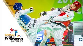 2017 World Taekwondo Championships MUJU _ Final match (Women -46kg)
