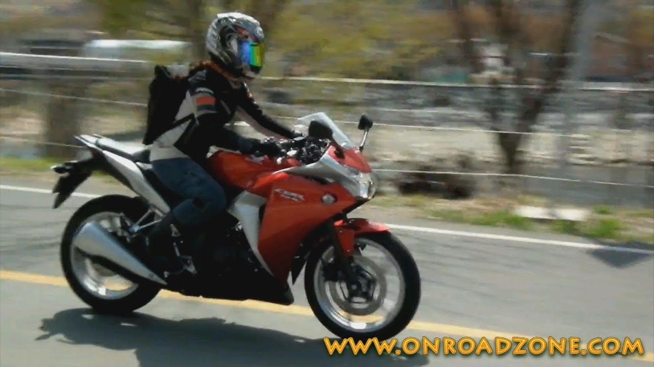 Woman Rider 2011 Honda Cbr250r Passes Video Movie Youtube