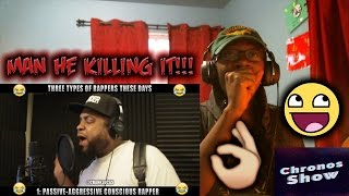Three types of rappers these days reaction & freestyle!