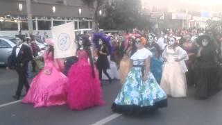 Desfile de Catrinas Celaya Gto 2015