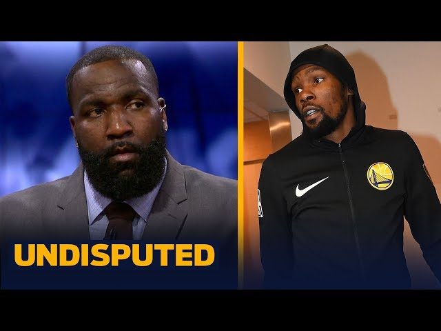 Kendrick Perkins doubles down on his remarks on why Kevin Durant left Warriors | NBA | UNDISPUTED