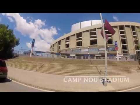 Camp Nou Experience Tour & Museum 2014