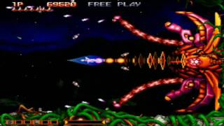 Gradius Collection - Gradius Gaiden Stage 6 & Stage 7 Loop 8 Hardest