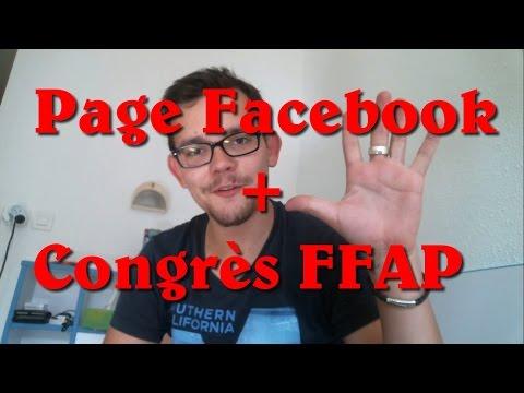 [IMPORTANT] Page Facebook + Congrès FFAP