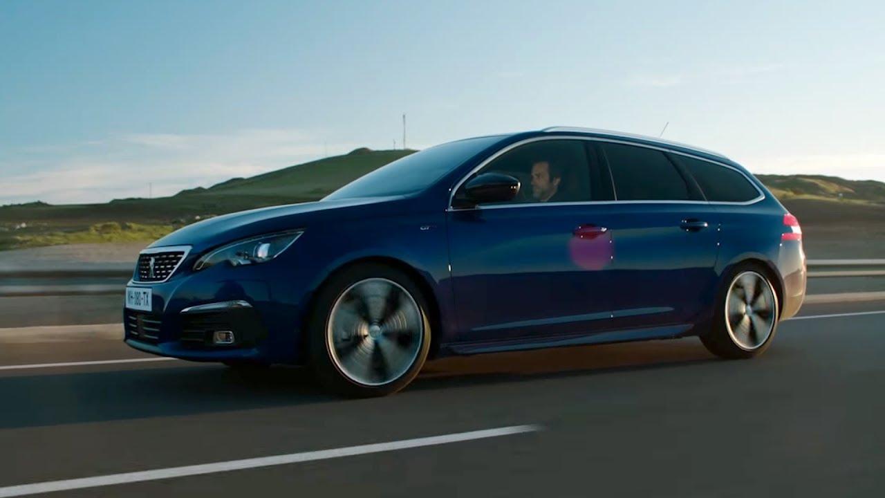 Peugeot 308SW 1.6 HDI (2015) on German Autobahn - POV Top Speed .