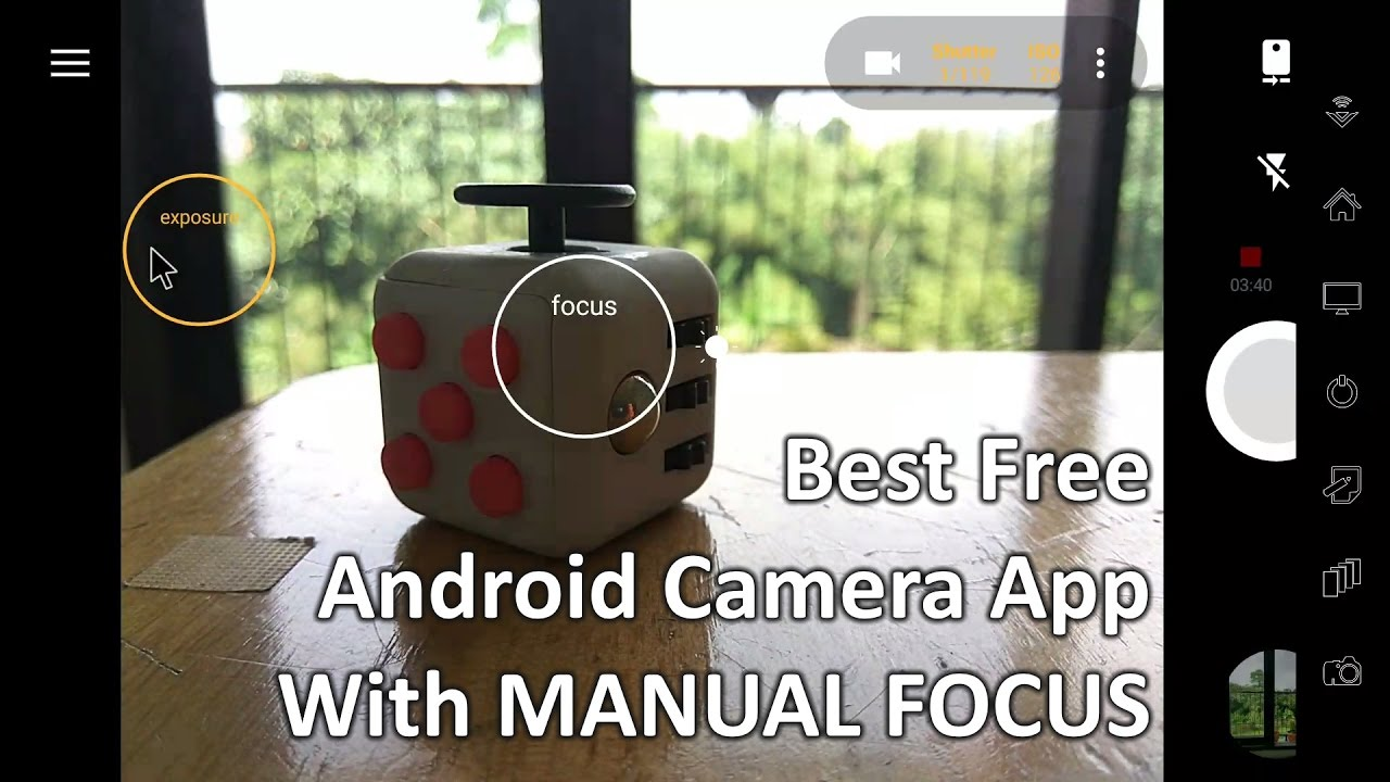 best free android camera app with manual focus youtube rh youtube com Zoom R16 Manual Novo Focus Manual