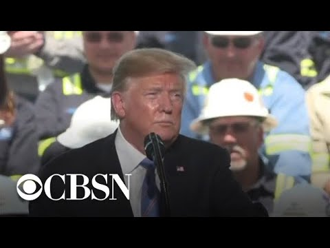 Trump swipes at Democrats in Louisiana energy speech