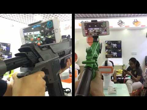 Amazing Way To Play Mobile Games: Play Mobile Games With Caraok AR GUN