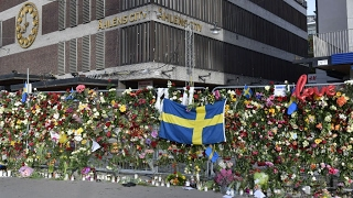 Sweden  Stockholm pays homage to the victims of truck terror attack