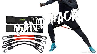 Resistance Band HACK, Conditioning Workout, Boxing Training