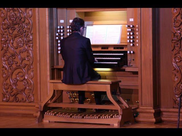 F. Mendelssohn Sonate for organ op.65 n.4