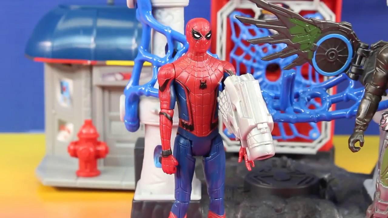 Marvel Spider-Man Homecoming Marvel/'s Vulture Attack Set