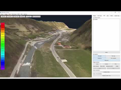 How to use LIDAR in 3Dsurvey