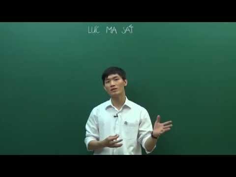 Lực ma sát - Vật lý Cơ bản 10 - Thầy Đỗ Ngọc Hà