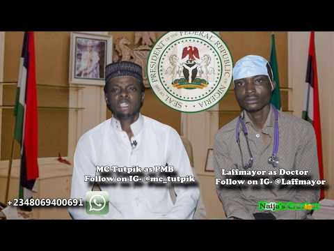 Buhari Gives 2017 Independence Speech With Doctor By His Side