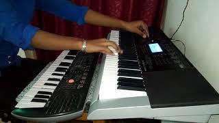 Premratan dhan payo with karaoke on keyboard