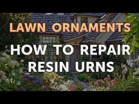 How to Repair Resin Urns