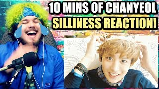 Cover images 10 MINUTES OF EXO CHANYEOL'S SILLINESS | SO CLUMSY BUT LOVABLE! | REACTION!!