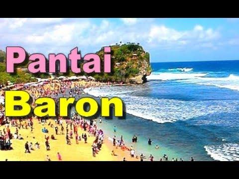 Wisata Pantai Baron Beach Jogja Gunung Kidul Yogyakarta Tourism Hd