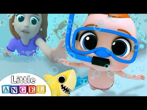 bath-time-song-|-baby's-bath-time-|-little-angel-nursery-rhymes