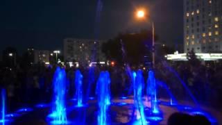 Танцующий фонтан Волжского