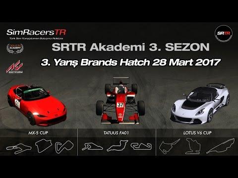 Assetto Corsa Newbie 3. Sezon 3. Yarış Brands Hatch 28 Mart 2017