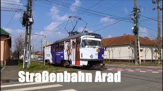Strassenbahn Arad 2018