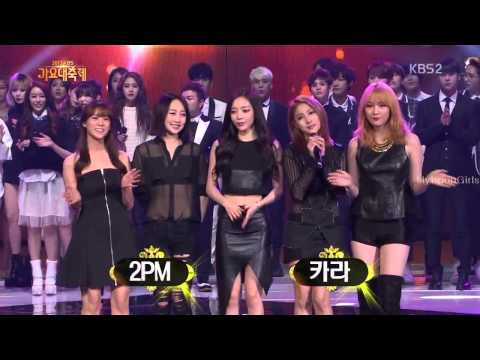 EXo SNSD 2PM 4Minute Infinte Apink Live
