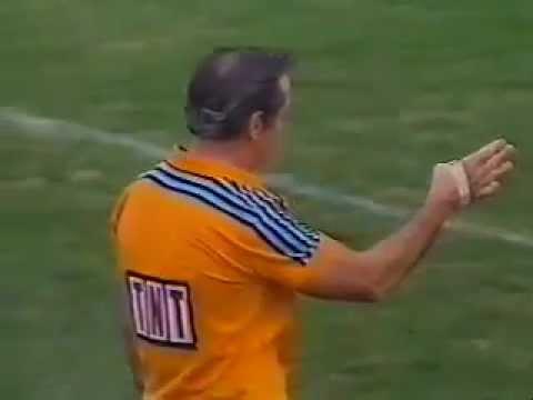 Steve Folkes Penalty Try & Fred Teasdell YoYo 1986 Canterbury V Norths