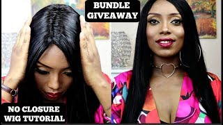 WATCH ME MAKE A NO LACE CLOSURE NO HAIR OUT WIG TUTORIAL FOR BEGINNERS | Wigsbuy