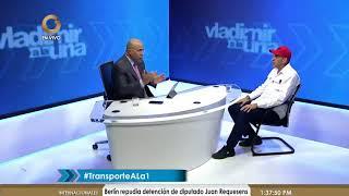 Hipólito Abreu: Censo de Transporte detendrá a las mafias (2/1)