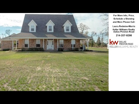 744 VZ County Road 4204, Canton, TX Presented by Laura Redwine-Morris.