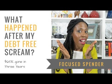 What Happened After My Debt Free Moment! - $65K Gone... Now What?