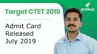 CTET Admit Card 2019 Declared, Download Here