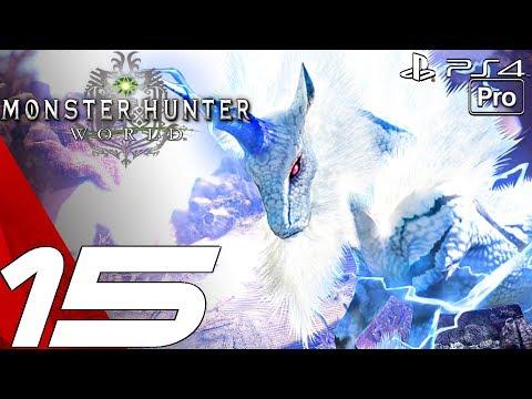 Monster Hunter World - Gameplay Walkthrough Part 15 - Rank 6 Pukei-Pukei & Rathian (PS4 PRO)