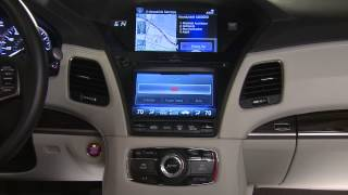 Acura — RLX — Using Destination Link with AcuraLink