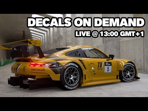 Live Stream - Decals on Request #2