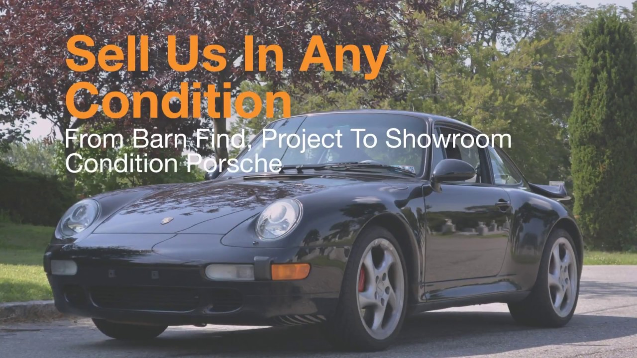 Old Porsche 993 For Sale? We Buy In Any Condition, Nationwide I Peter Kumar