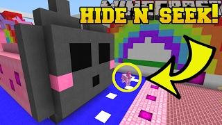 Minecraft: KAWAII ANIMALS HIDE AND SEEK!! - Morph Hide And Seek - Modded Mini-Game thumbnail