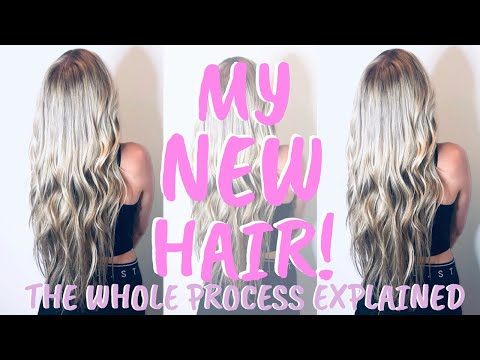 MY HAIR! PUTTING IN NEW EXTENSIONS! Tease Hair Extensions